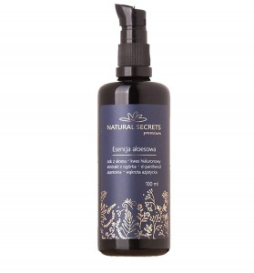 Natural Secrets Esencja Aloesowa 100 ml